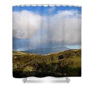 Storm Passing Over Morgan Territory Shower Curtain