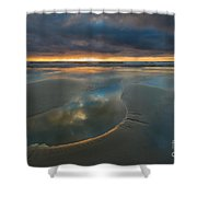 Storm Pool Shower Curtain