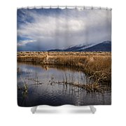 Storm Reflections Shower Curtain