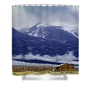 Storm Rolling In Shower Curtain