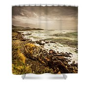 Storm Season Shower Curtain