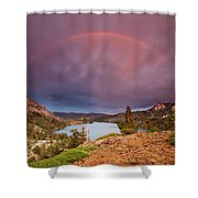 Storm Skies Over Echo Shower Curtain