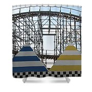 Storm Track Shower Curtain
