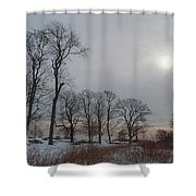 Storm Trilogy-two Harkness Memorial State Park Shower Curtain