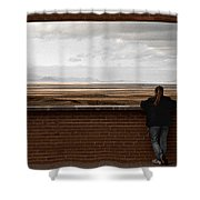 Storm View Shower Curtain