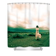 Storm Walk - Split Tone Shower Curtain