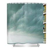Storm Watchers At Perdido Key Fl Shower Curtain