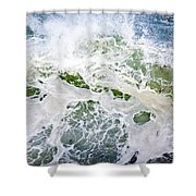 Storm Wave Shower Curtain