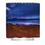 Stormline Above Mountains Shower Curtain