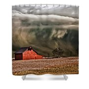 Storm's Coming Shower Curtain