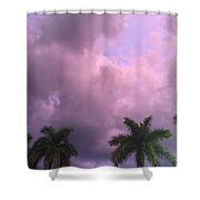 Storms In The Tropics Shower Curtain
