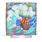 Storms Of Life Shower Curtain