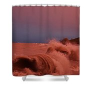 Storms On The Water Shower Curtain