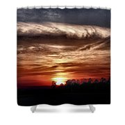 Storms Roll Shower Curtain