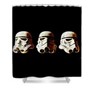 Stormtrooper 1-3 Weathered Shower Curtain