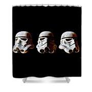 Stormtrooper 1-3 Shower Curtain
