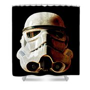 Stormtrooper 1 Weathered Shower Curtain