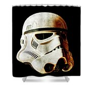 Stormtrooper 2 Weathered Shower Curtain