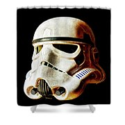 Stormtrooper 3 Weathered Shower Curtain