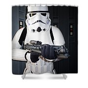 Stormtrooper Shower Curtain