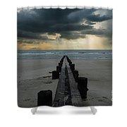 Stormy Atlantic Shower Curtain