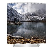 Stormy Convict Lake Shower Curtain