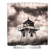 Stormy Day Shower Curtain