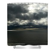 Stormy Dorset Shower Curtain