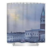 Stormy Evening In Venice Shower Curtain