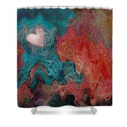 Stormy Love Shower Curtain