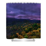 Stormy Morning Shower Curtain