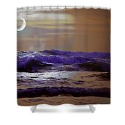 Stormy Night Shower Curtain by Aaron Berg