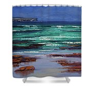 Stormy Ocean Shower Curtain