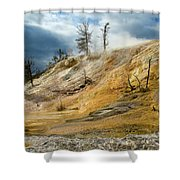 Stormy Skies At Mammoth Shower Curtain