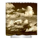 Stormy Skies In Socal Shower Curtain