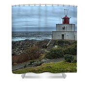 Stormy Skies Over Amphitrite Shower Curtain