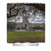 Stormy Skies Over The Citadel Shower Curtain