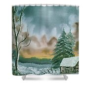 Stormy Sky Shower Curtain