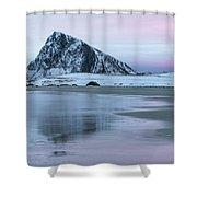 Storsandnes, Lofoten - Norway Shower Curtain