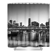 Story Bridge Brisbane Shower Curtain