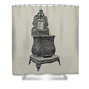Stove Shower Curtain