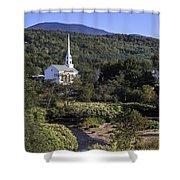 Stowe Vermont Shower Curtain