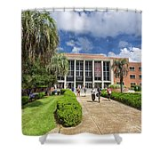 Stozier Library At Florida State University Shower Curtain