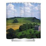 Stradbally, Co Laois, Ireland Church Shower Curtain