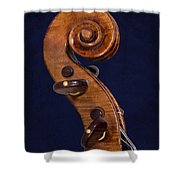 Stradivarius Scroll Shower Curtain