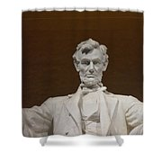 Straight On Abe Shower Curtain