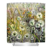 Straight To The Hills Shower Curtain