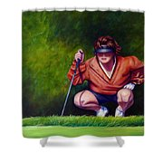 Straightshot Shower Curtain