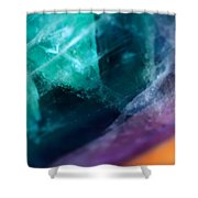 Strains Of Time Shower Curtain