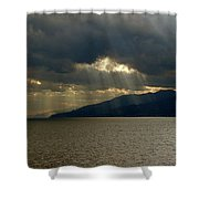 Strait Of Messina I Shower Curtain